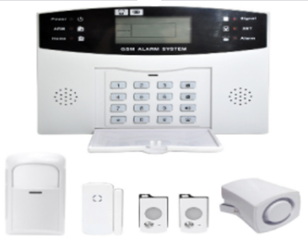 Build-in Battery LCD Display  GSM Alarm SystemBuild-in Battery LCD Display  GSM Alarm System