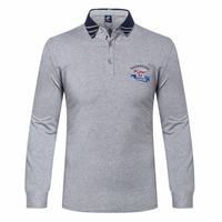 T Shirt Tace Shark 2017 New Products Men S T Shirt Billionaire Lapel Embroidery Cotton Business