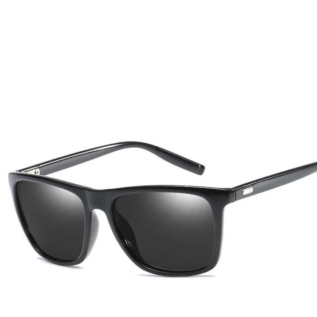 637ee4a63ce Classic Polarized Sunglasses Men Brand Design Vintage Polaroid Driving  Square Sunglass Male Sun Glasses For Men