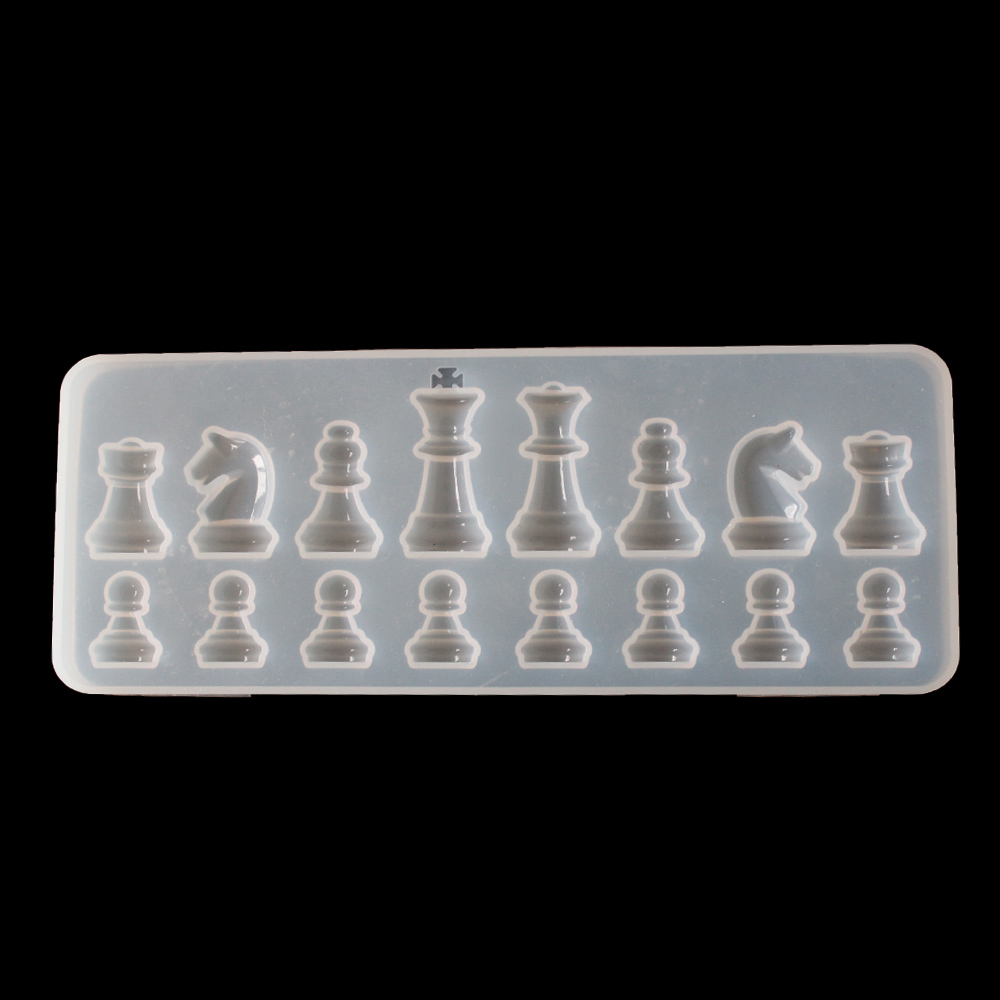 Aouke Формочки 3d шахматы пепельница силиконовая форма ручной