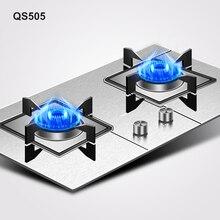 Supor QS505 Бытовая двойная духовка встраиваемая газовая плита сжижения настольные Варочные панели