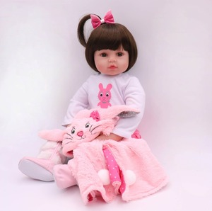Image 2 - NPK 47CM Silicone Reborn Super Baby Lifelike Toddler Baby Bonecas Kid Doll Bebes Reborn Brinquedos Reborn Toys For Kids Gifts