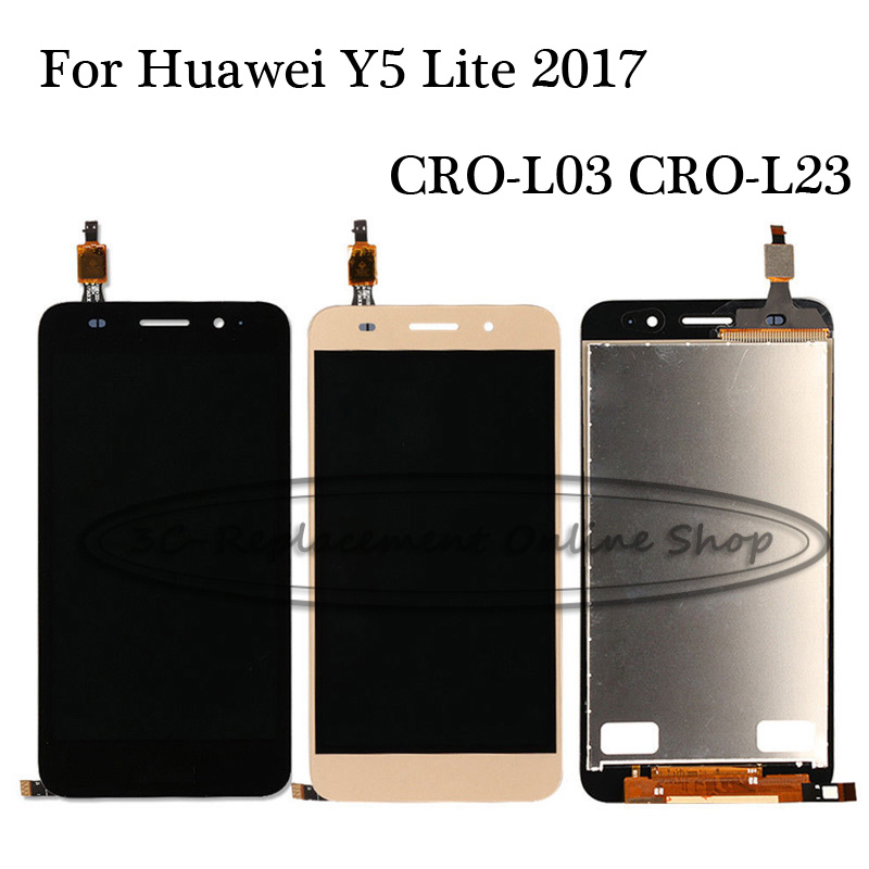 100% Tested Back/White/Gold For Huawei Y5 Lite 2017 CRO