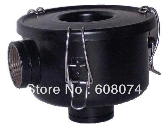 vacuum pump inlet filters F002-1   Rc3/4  NPT3/4 industrial vacuum pump intake filter in housing 2 rc inlet