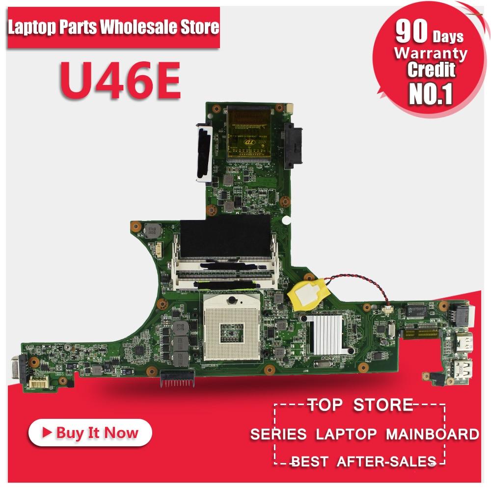все цены на Original Laptop Motherboard FOR ASUS U46E REV 2.0 mainboard Integrated 100% tested онлайн