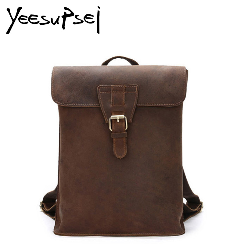 YeeSupSei Stylish Travel Large Capacity Backpack Male Luggage Shoulder Bag Computer Backpacking Men Functional Versatile Bags mco men s vintage canvas backpack school luggage shoulder bag computer functional hand bag large capacity travel laptop backpack