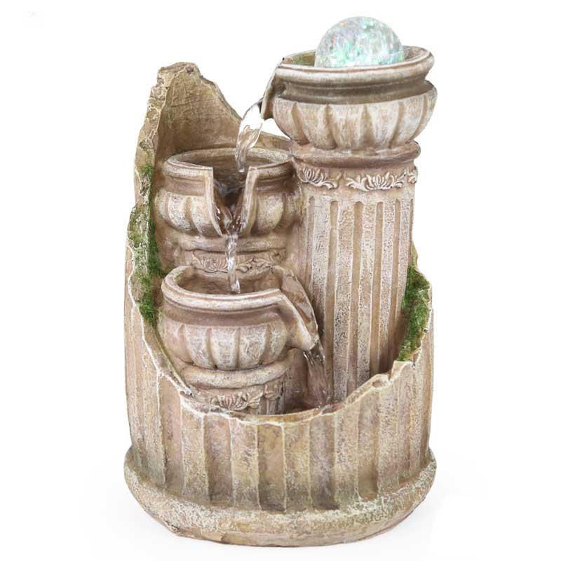 Фэншуй фонтан украшения современного искусства небольшой горшках пейзаж Творческий смолы дома