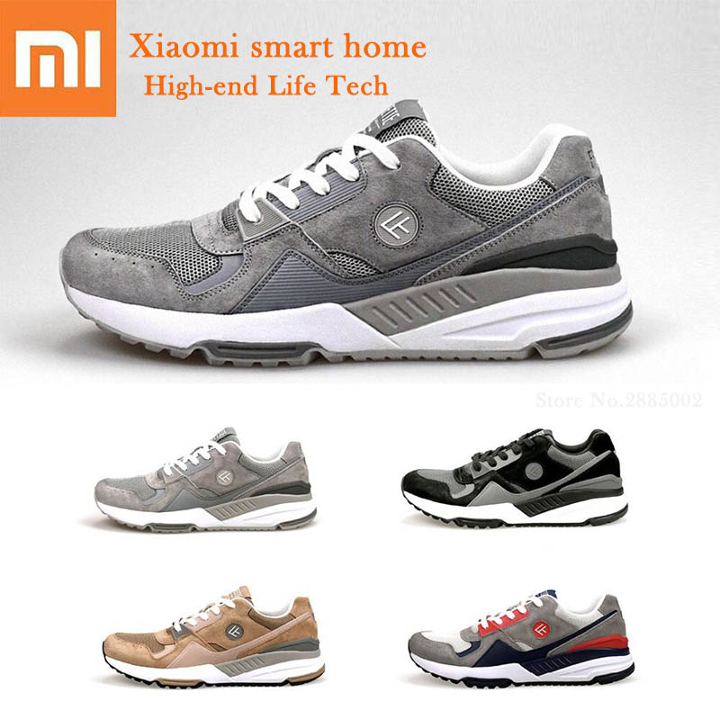 4 Colors Xiaomi FREETIE 90 Retro Sports Shoes Breathable Flexible Wear Resistant Soft Comfortable Casual Shoes