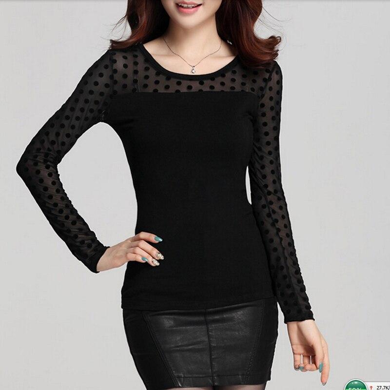 Blusas Feminina camisa Blusa Mujeres Top de las Señoras Del Cordón Blusas Shirt