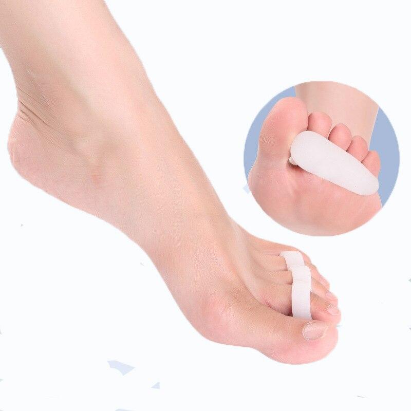 1Pair Silicone Toe Separator Orthopedic Hallux Valgus Corrector Metatarsal Straightener կոշիկներ գել Բարձ բարձիկներ բարձիկների խնամքի միջոցներ