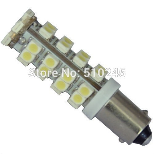 10x high quality auto Car BA9S 1895 T4W 36 SMD 3528smd LED White Corner Bulb Signal Light Sidelight free shipping
