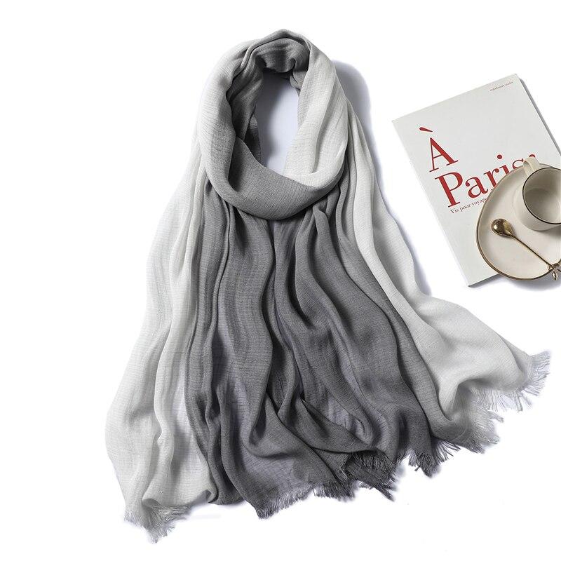 ☆ 2019 Новые женские зимние шарфы Модные лоскутные хлопковые шали и накидки Женские теплые шарфы