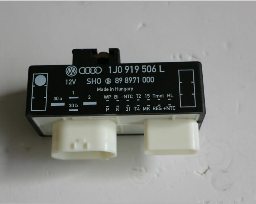 Radiator Cooling Fan Relay Control Module For Audi VW Skoda Seat 1J0919506L  1J0 919 506L