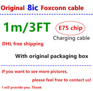8ic Foxconn 100pcs/Lot Original Data New-Packaging E75-Chip for Ix/Xs/Max/.. with Genuine