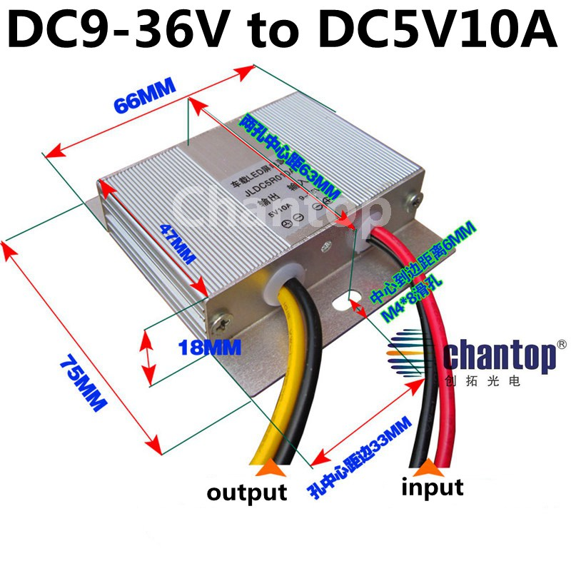 ultra thin DC to DC Power Converter 12V/24V to 5V 10A 50W Taxi /Car/ Bus led display switching Power supply Step Down buck CPT 2 pcs dc dc 12v 24v to 5v 5a buck converter voltage regulator step down power supply module car vehicle led
