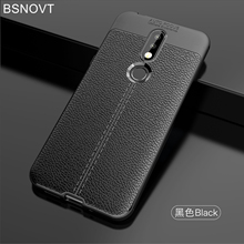 For Cover Nokia 7.1 Case Soft Silicone PU Leather Shockproof Anti-knock 7 2018 BSNOVT