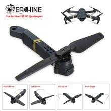 Eachine E58-Recambios de cuadrirrotor RC, brazos de eje con Motor y hélice para Dron de carreras con visión en primera persona, piezas de marco, accesorios de repuesto