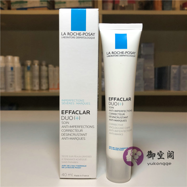 La Roche-Posay Effaclar DUO Plus For ACNE Anti-Blemish Cream 40ml
