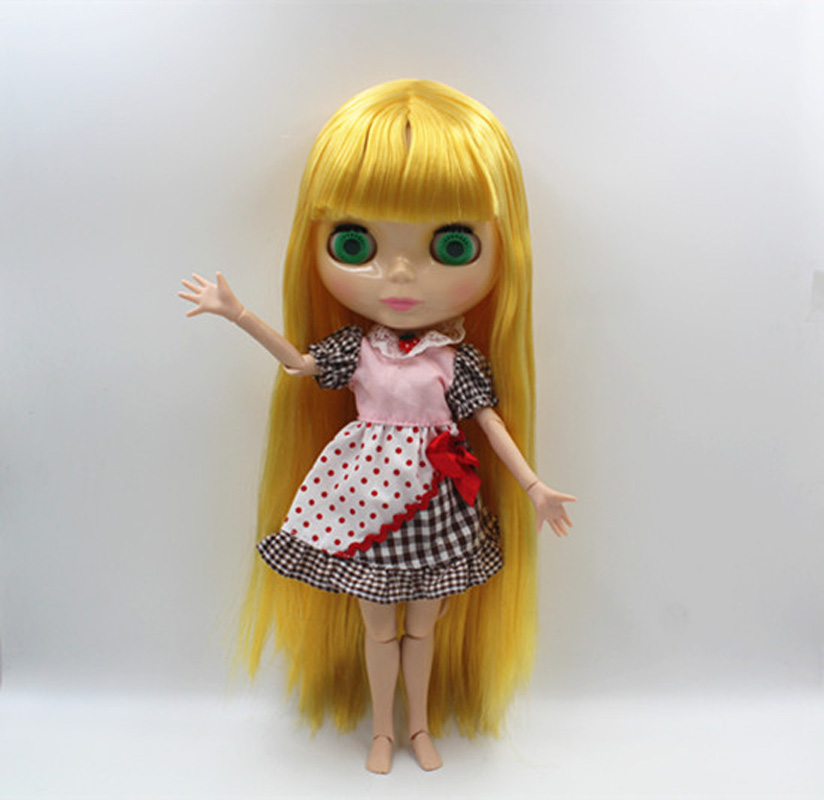 Toys & Hobbies 366j Doll Limited Gift Special Price Cheap Offer Toy Luxuriant In Design Imported From Abroad Free Shipping Top Discount 4 Colors Big Eyes Diy Nude Blyth Doll Item No