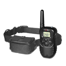 Free by DHL 1PC 300 Meters Remote Pet Training Collar With LCD Display For 2 Dog PET Without battery Electronic training collar