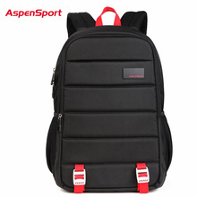 AspenSport 2017 Neue Urban Rucksack Männer Unisex Licht Schlank Minimalistische Mode Schulrucksack Frauen 15,6 Laptop Rucksack