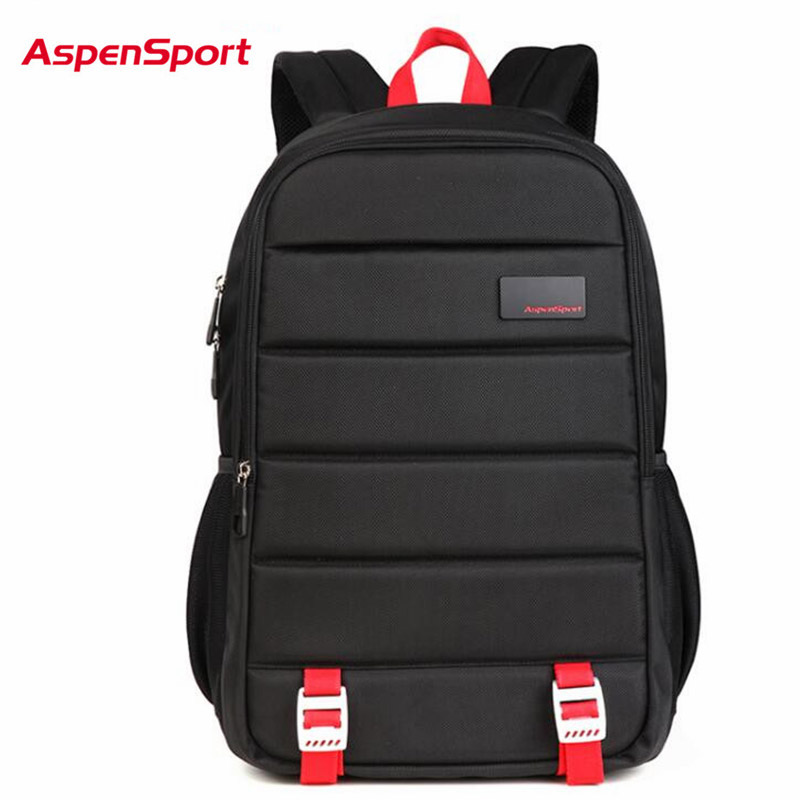 AspenSport 2017 New Cool Urban font b Backpack b font Men Unisex Light Slim Minimalist Fashion