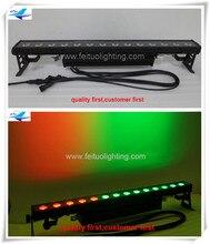 2 xlot banquete equipo pixel ip65 led colada de la pared 14×30 w rgb matrix cob de alta potencia led de pared lavadora