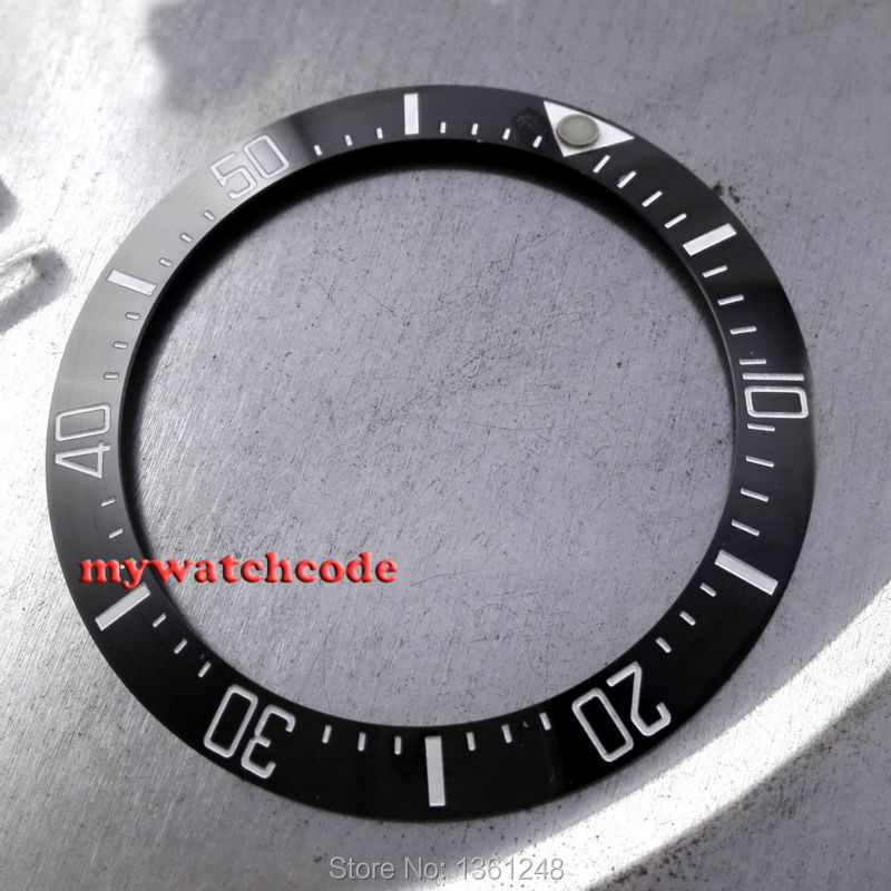 39.7mm black ceramic bezel insert for <font><b>Deep</b></font>-<font><b>Sea</b></font> <font><b>watch</b></font> made by parnis factory B9 image