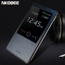 Nkobee Роскошные Shell для Huawei Ascend Mate 7 кожаный чехол Мода откидная крышка для Huawei Mate 7 mate7 чехлы для телефонов