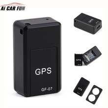 GF07 GSM GPRS Mini Car GPS Locator Tracker Car Gps Tracker Anti-Lost Recording Tracking Device Voice Control Burglar alarm 2017 waterproof car tracking locator vehicle gps tracker c1 strong magnetic gps anti loss system for car burglar alarm devices