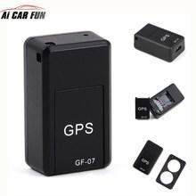 GF07 GSM GPRS мини автомобильный gps-локатор трекер Автомобильный gps трекер анти-потерянная запись отслеживающее устройство Голосовое управление может записывать