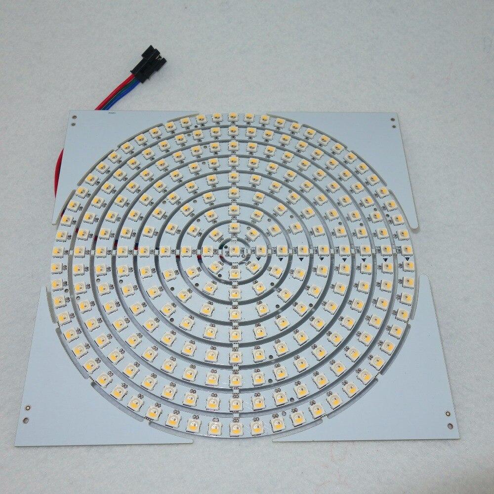 (insgesamt 9 Arten Von Größe) Address Dc5v Sk6812-rgbw Led-ringlicht; Weiß Pcb; Ein Satz Mit 1/8/12/16/24/32/40/48/60 Leds Einfach Und Leicht Zu Handhaben