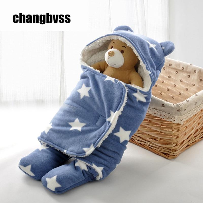 New Autumn Winter Baby Sleeping Bag Envelopes For Newborns