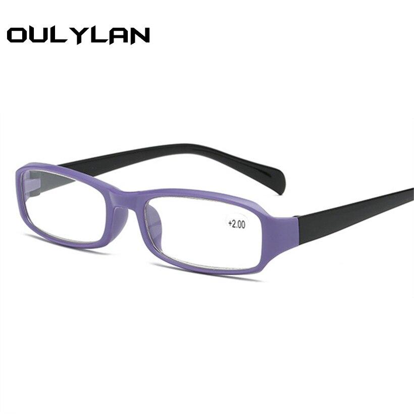 Oulylan Unisex Lesebrille Frauen Männer TR90 Brillen Hyperopie Brillen + 1,0 1,5 2,0 2,5 3,0 3,5