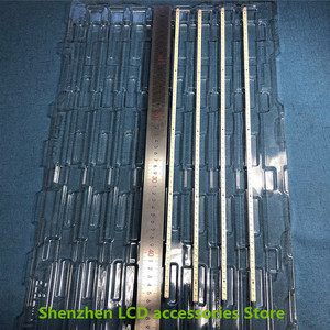 Image 4 - 4Pieces/lot   For Toshiba 40BF1C LCD backlit TV lamp strip LJ64 02267A/02268A with screen LTA400HF16    56LED   453MM