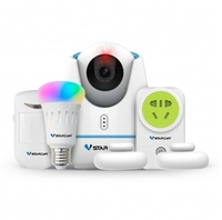 Hot VStarcam Smart Home Kits E27 With Wifi ZigBee RF IR Control Smart Ip Camera For