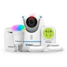 Hot VStarcam Smart home kits E27 with wifi ZigBee RF IR control smart ip camera for Smart home Solution
