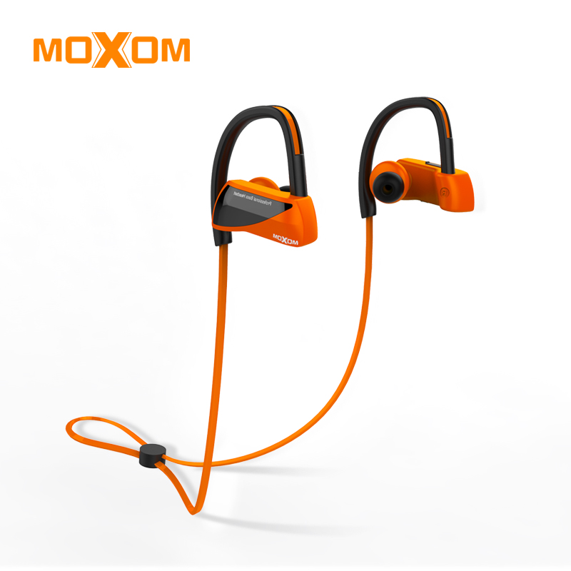 MOXOM Sport Bluetooth Headphone Waterproof Wireless Headphones Earphone Stereo Audio Headset with Handsfree Mic for Running no frame canvas