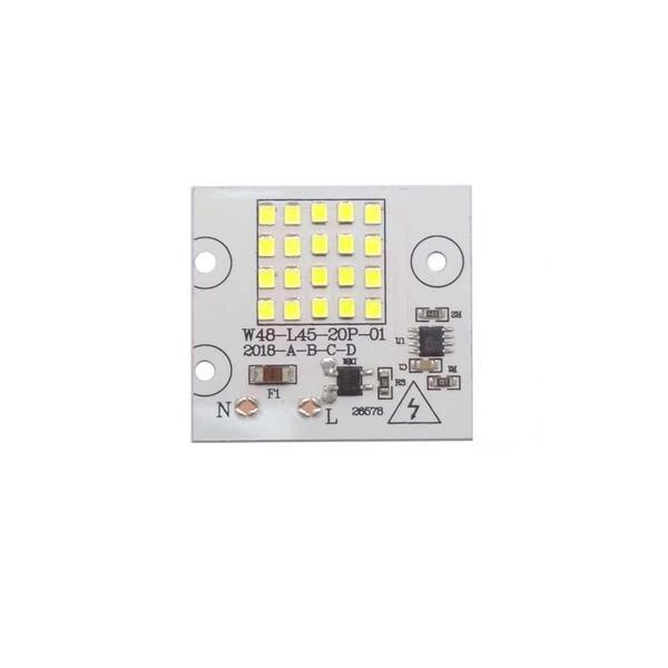 20pcs/lot  Smart IC SMD LED Chips Lamp 10W 20W 30W 50W 100W 220V DIY For Outdoor Floodlight Outdoor Garden Cold White Warm White