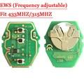 EWS placa de Circuito Clave Remoto 315 MHZ/433 MHZ Ajustable 2-en-1 Para BMW 10 unids/lote