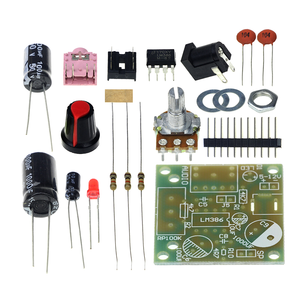 Lm386 Amplificador Module Board 35mm 3 12v Unso Diy Kit Super Working Operation Of Audio Amplifier Ic Mini In Integrated Circuits From Electronic Components