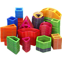 3D Magnetic Designer DIY Modeling Construction Building Blocks Single Bricks Accessory Magnet Toy Educational Toys for Kids Gift