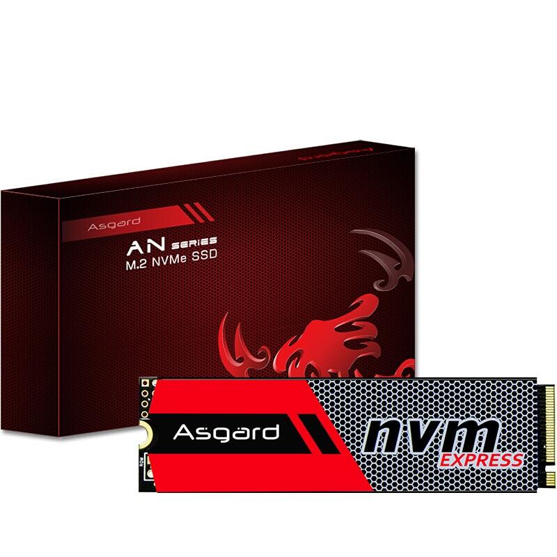 Meilleure vente Asgard 3D NAND 256 GB 512 GB 1 to M.2 NVMe pcie SSD disque dur interne pour ordinateur portable bureau haute performance PCIe NVMe - 4