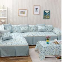 Sofa Cover Full Package Everything Set Combination Full Cover Cloth Art Sofa  Cover The Back Of