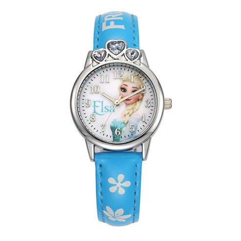 Children's Watches 100% Genuine Disney Brand Watches Frozen Sophia Minnie Watch With Necklace Fashion Luxury Watch Men Girl Wrist Watch 2018 New