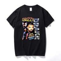Drizzy Drake Boy Meets World Tour hombres camiseta nueva camiseta de verano Hip hop Camisetas Hombre Streetwear algodón manga corta camiseta