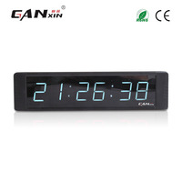 [Ganxin]1 6 Digits talking alarm clock wall clock modern design