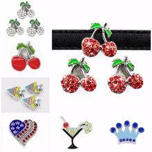 Breloques coulissantes en cristal pour la fabrication de bracelets, 10mm, 5 pièces/lot, bijoux pour femmes, breloques coulissantes en cristal, fleur bricolage, collier pour animaux de compagnie, ras du cou, porte-clés