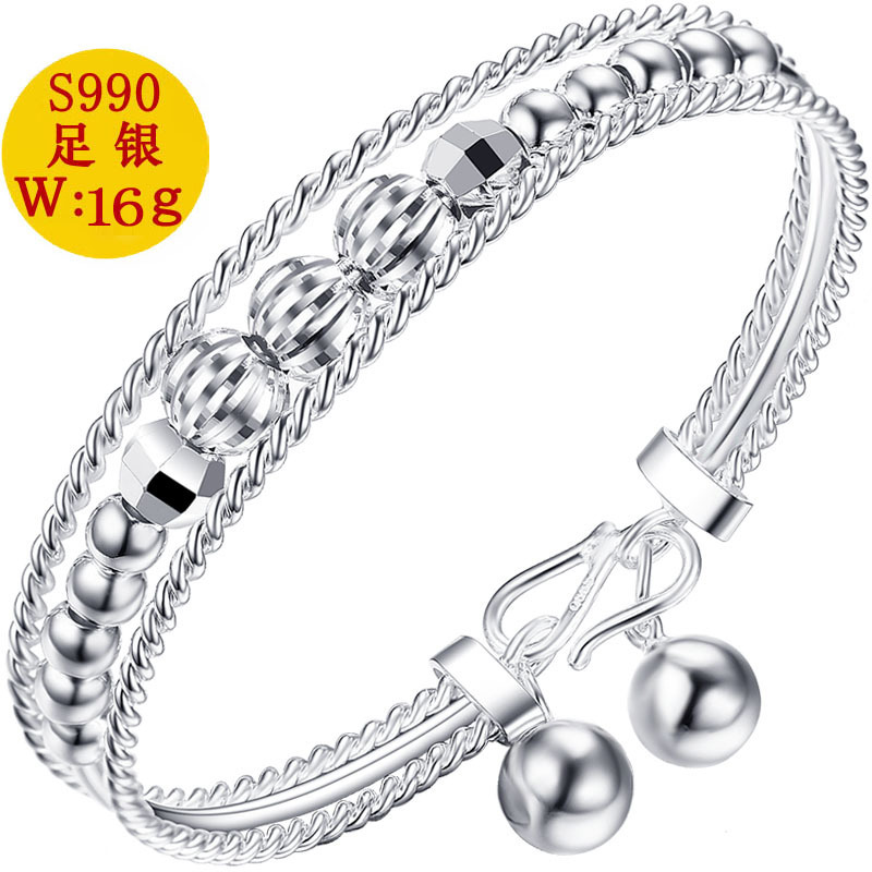 925 ARGENT CLOISONNE Open Sapphire Bracelet Women/'s National Wind Bracelet