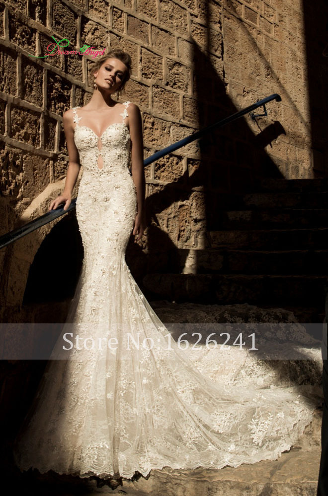 Online Buy Wholesale beaded mermaid wedding dress from China ...